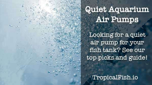 Quietest ( almost silent ) Aquarium Air Pumps